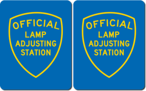 brake & Lamp Adjusting Stations